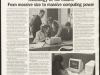 Technology at the Mount: from massive size to massive computing power